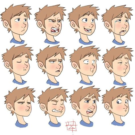 painting 2 0 expression in 140 best characters expressions images on character design expressions and