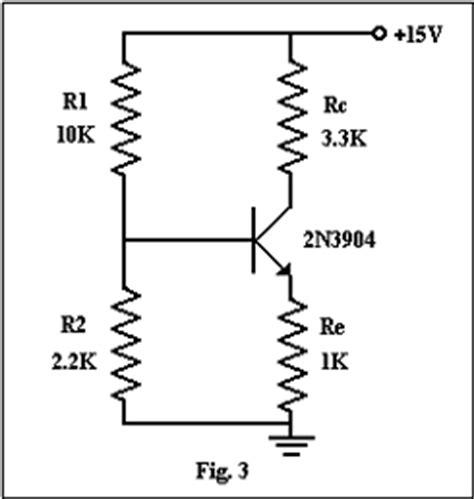 transistor bjt polarizacion fija polarizacion transistor