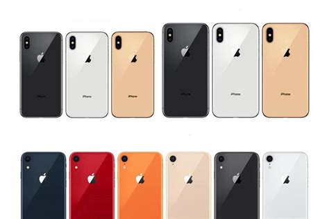 the 6 1 quot iphone xr will be available in 6 color versions here they are phonearena