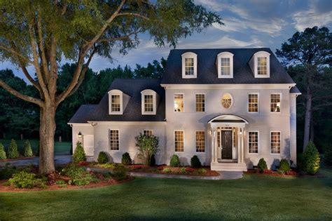 house charlotte triveny neighborhood model home traditional exterior charlotte by true homes usa