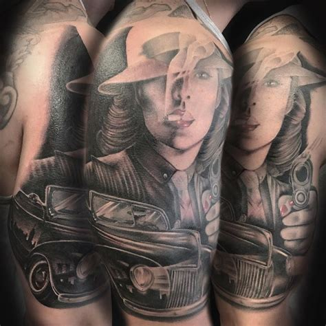 turning tribal tattoo into sleeve italian mafia half sleeve i will be turning it into