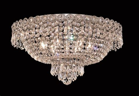 Chandeliers Flush Mount Lighting 6 Lights Flush Mount Chandelier 1900 Century Collection