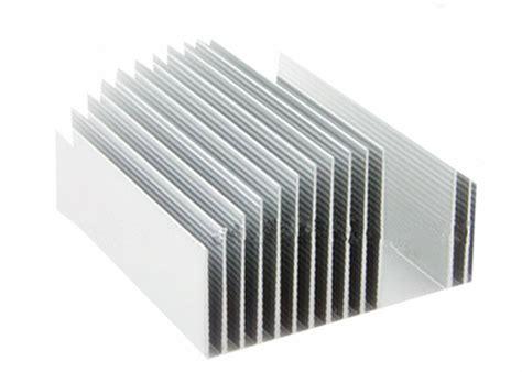 heatsink transistor electronic silver aluminum extruded heatsink for transistor t3 t8