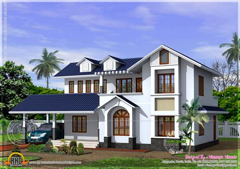 free sle house plans kerala style house with free floor plan kerala home design and floor plans