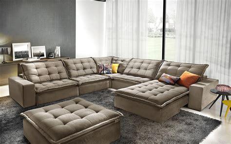 sofa retratil e reclinavel sof 225 amaroke de canto retr 225 til e reclin 225 vel