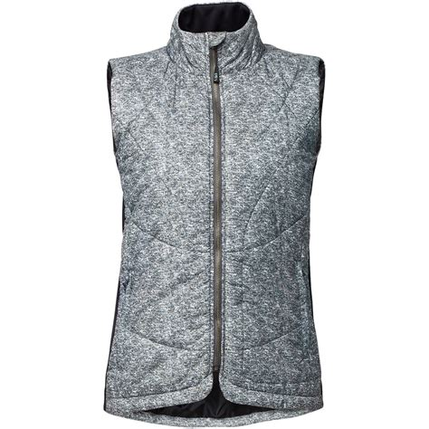 Quilted Vest Womens by Lija Melange Shell Quilted Vest S Backcountry