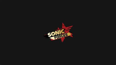 wallpaper logo game sonic forces video game wallpaper hd