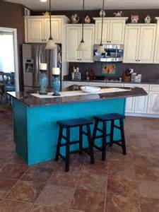 Turquoise Kitchen Island Aqua Kitchen Island Quicua