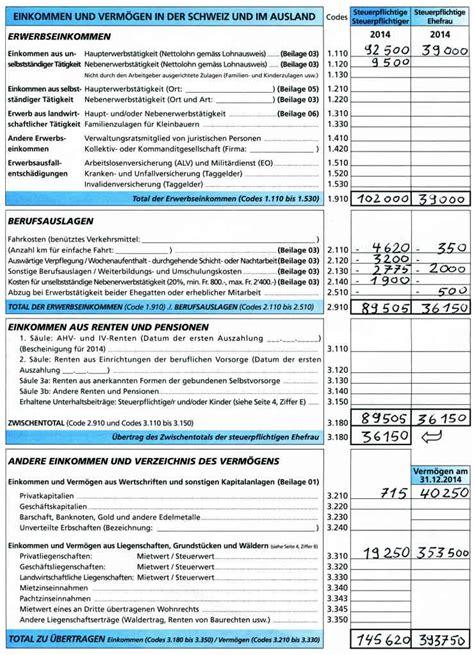 Muster Lohnausweis Schweiz Steuererkl 228 Rung Ausf 252 Llen Leicht Gemacht Freiburger Nachrichten News Aus Freiburg