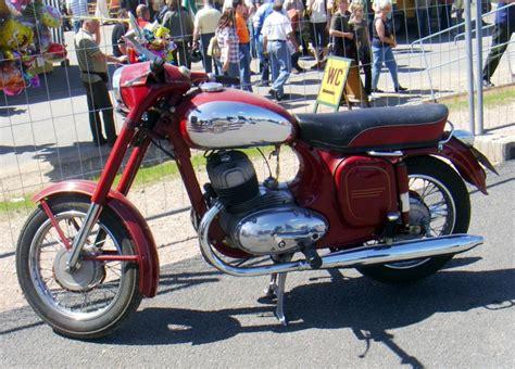 Oldtimer Motorrad Jawa 350 by Zeitachse Fahrzeugbilder De