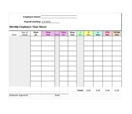 time sheets template 40 free timesheet time card templates template lab
