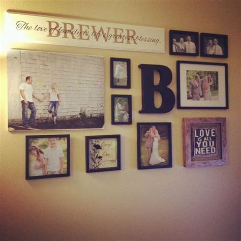 17 best ideas about wall collage decor on wall