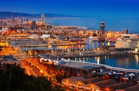 foto porto gratis porto em barcelona durante a noite espanha baixar fotos