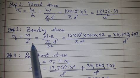 design of machine elements youtube design of machine elements problem 1 from design of