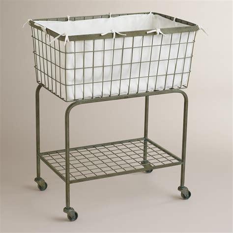 laundry cart ellie rolling laundry cart world market