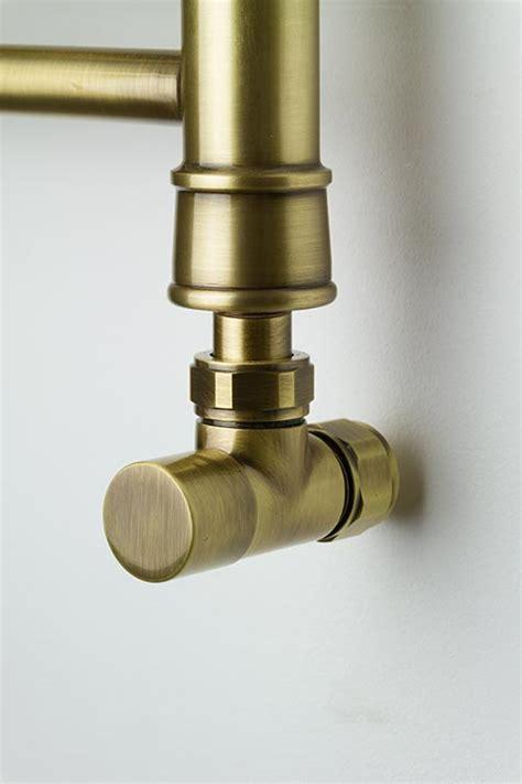 antique brass towel rails brass towel radiators coco
