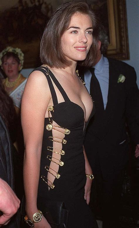 Buy Elizabeth Hurleys Safety Pin Versace Dress liz hurley versace safety pin dress at resurrection