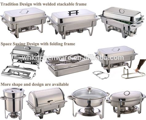 stainless steel chaf dish warming tray restaur food warmer