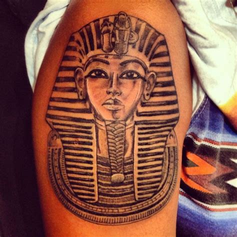 Queen Head Tattoo | egyptian queen head tattoo