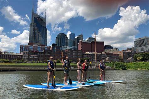 paddle boat rental nashville fun things to do stand up paddleboarding nashville guru