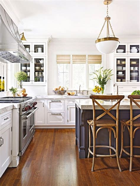 nice looking gray square marble top kitchen island with furniture the good looking galley kitchens with islands