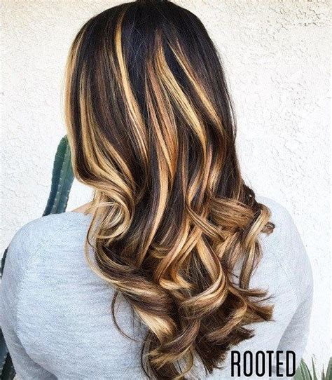blonde highlights on brunette hair over 60 60 hairstyles featuring dark brown hair with highlights