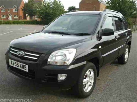 Kia Sportage Xs Kia 2006 Sportage Xs Black Car For Sale