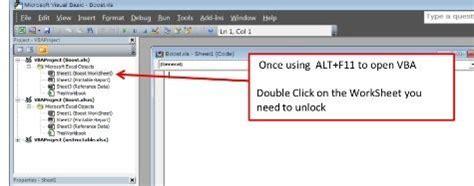 vba remove password to open vba code to unlock a locked excel sheet