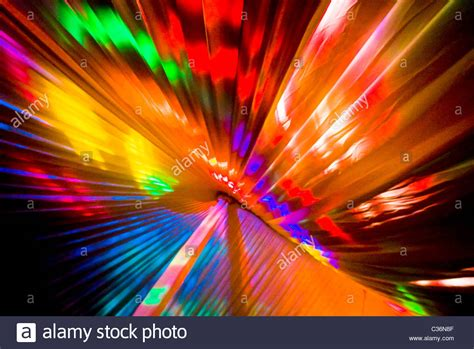 Colored Landscape Lights Bright Colored Colorful Disco Lights Inside Wedding Stock Photo Royalty Free Image