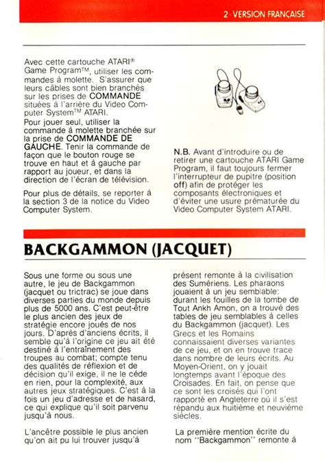 printable backgammon directions official backgammon rules pdf