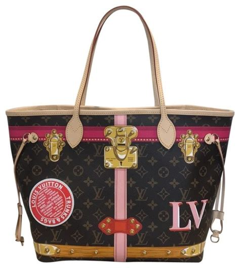 louis vuitton neverfull  trunks summer collection