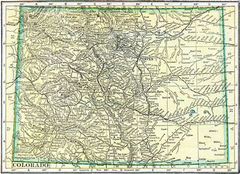 Free Records Colorado 1910 Colorado Census Map Access Genealogy