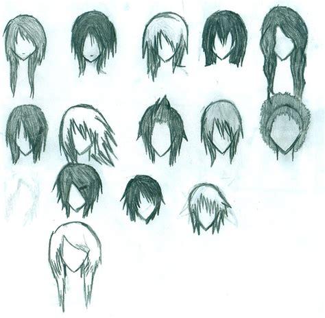 emo anime hairstyles anime hair by elixcon on deviantart