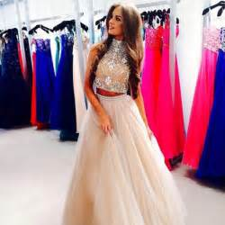 dress sherri hill prom prom dress two piece wheretoget