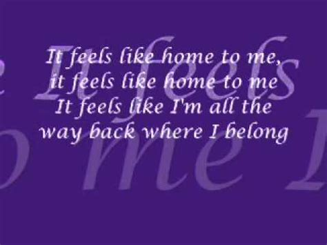 chantal kreviazuk feels like home lyrics