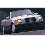 Mercedes 1993 300CE Cabrio Silver  CLASSIC CARS TODAY ONLINE