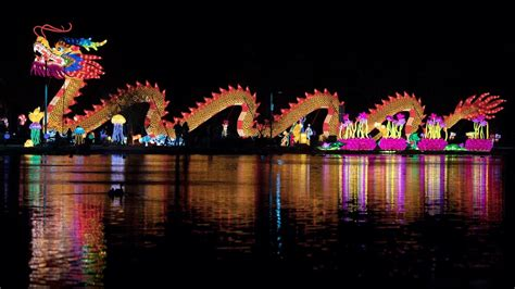 festival of lights los angeles giant lanterns festival lights up las vegas and will