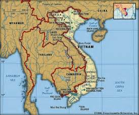 South East Asia Physical Map by Pol3 306s Spring 2005