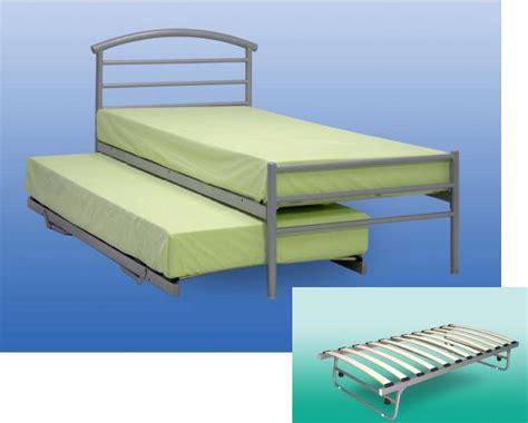 under bed ford single metal guest bed with under guest bed frame
