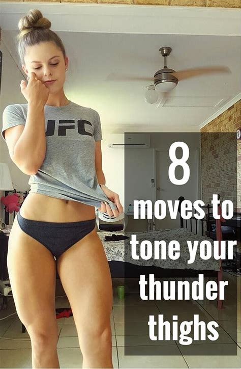 8 Exercises To Tone Your Legs by 8 To Tone Your Thunder Thighs