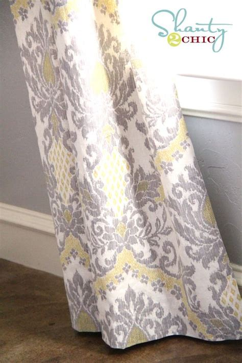 yellow and grey patterned curtains best 25 dining room curtains ideas on pinterest living