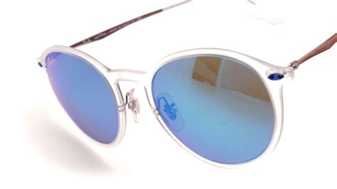 ray ban round light ray ray ban round light ray clear rb4224 646 55 49 20