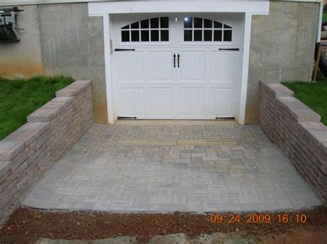 andrew vilcheck large retaining walls driveways with drainage