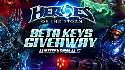 Heroes Of The Storm Giveaway - heroes of the storm beta keys giveaway unboxholics com
