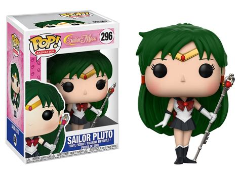 Funko Pop Sailor Moon With Bishoujo Senshi Sailor Moon sailor moon pop figures outer senshi pop keychainssailor moon collectibles