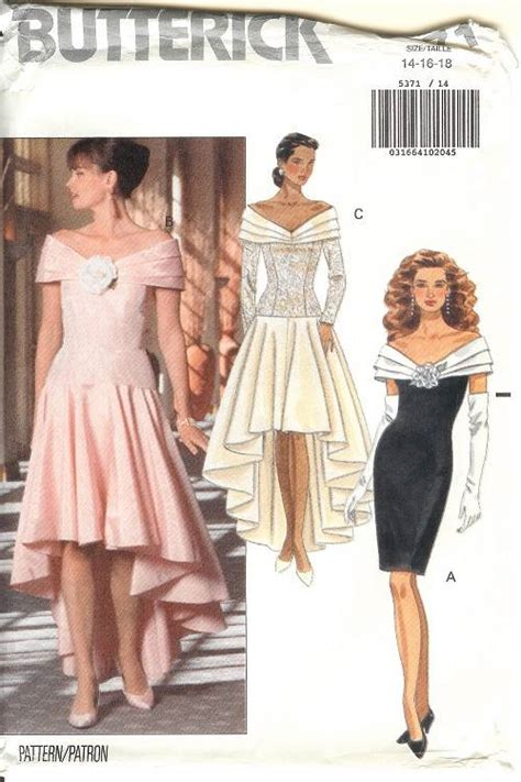 Bridesmaid Dress Patterns Uk - butterick sewing pattern misses bridal evening gown
