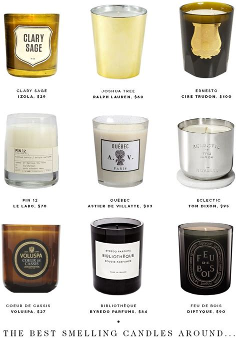 Best Candles   looking for the best scented candles