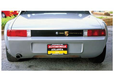 porsche 914 fiberglass bumper results