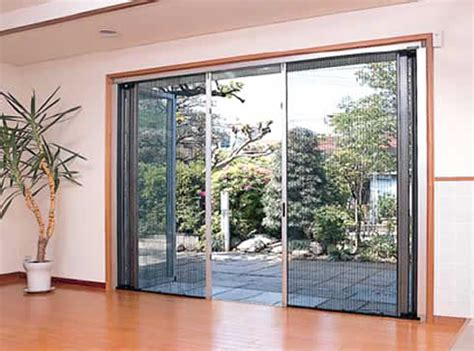 door insect screen innovative pleated insect screen designed for bi fold