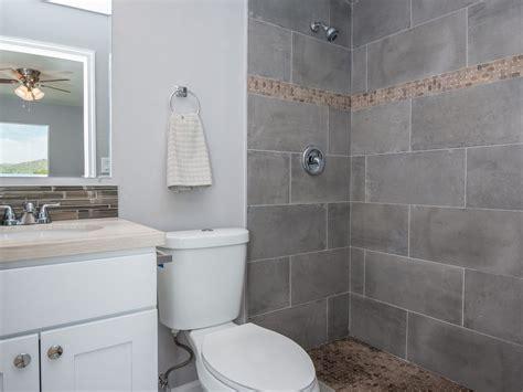 c bathroom traditional 3 4 bathroom with high ceiling flush